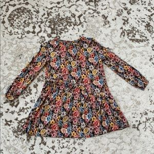 Zara Girl's Floral Fall Dress